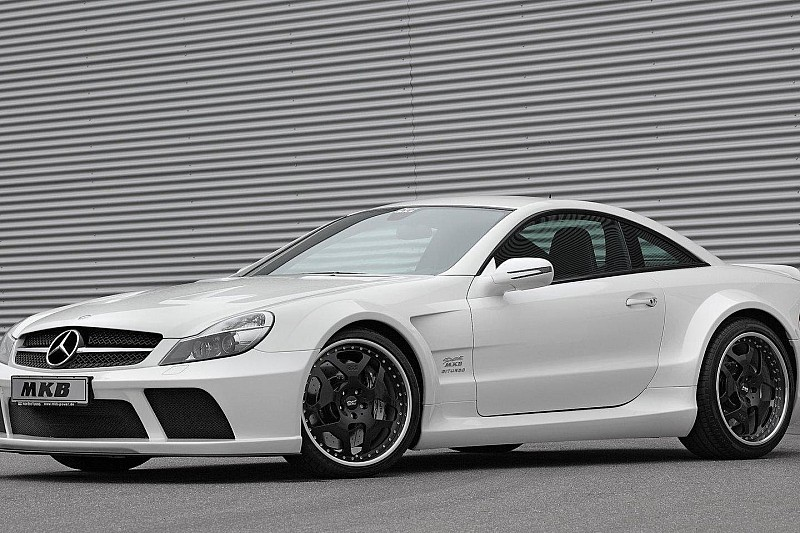 Mercedes SL 65 AMG Black Series by MKB packs over 1000hp