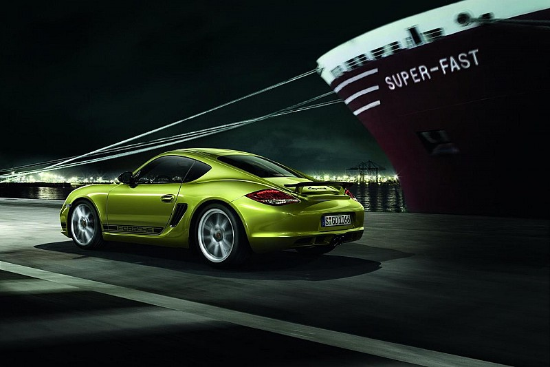 Porsche Cayman R revealed ahead of LA Auto Show debut [videos]