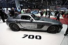 BRABUS 700 Biturbo based on Mercedes SLS AMG revealed in Geneva