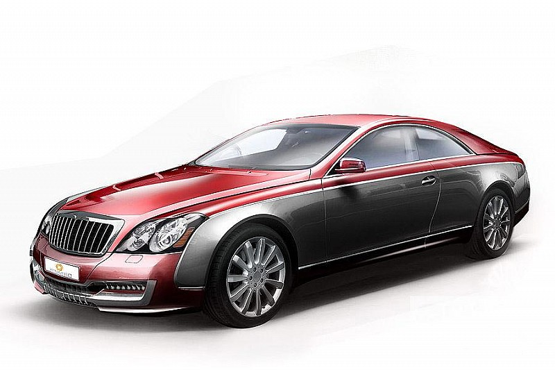 Maybach Xenatec 57S Coupe - start, rev, drive [video]