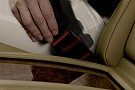 Mercedes introduces active seat-belt buckle technology