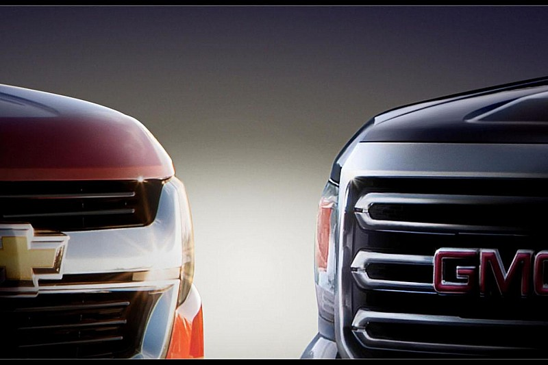 2015 Chevrolet Colorado & GMC Canyon teased