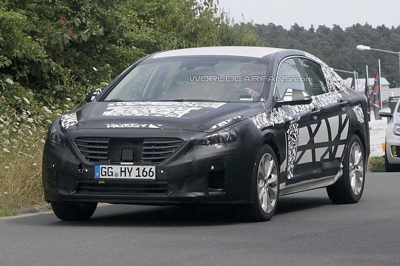 2015 Hyundai Sonata spied in Germany