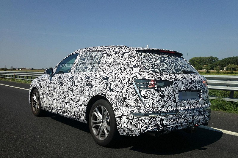 2015 Audi Q7 spied in Europe