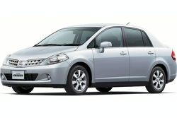 2008 Nissan Tiida Latio Facelift