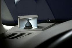 One speaker in the B&O audio system for the Audi A4