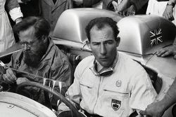 Moss & Jenkinson on the 300SLR