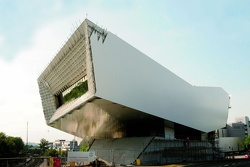 The new Porsche museum (September 2008)