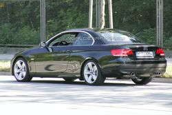 2010 BMW 3-Series Convertible Facelift spy photo