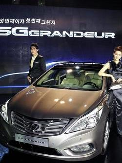 2012 Hyundai Grandeur / Azera launched in Korea 13.01.2011