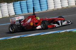 2011 Ferrari F1 car 'F150th Italia' 11.02.2011