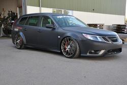 Viped-powered Saab 9-3 SportCombi - 16.5.2011