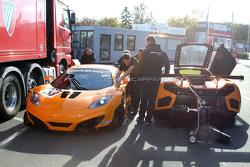 McLaren MP4-12C GT3 at the Nürburgring - 28.10.2011