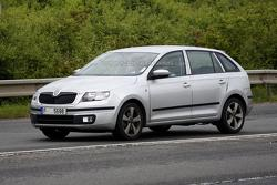 2013 Skoda Rapid Spaceback spy photo 05.07.2013