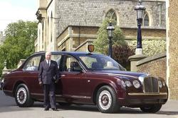 Queen's Bentley State Limousine 05.07.2013