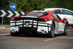 Ferrari 458 Monte Carlo spy photo 26.07.2013