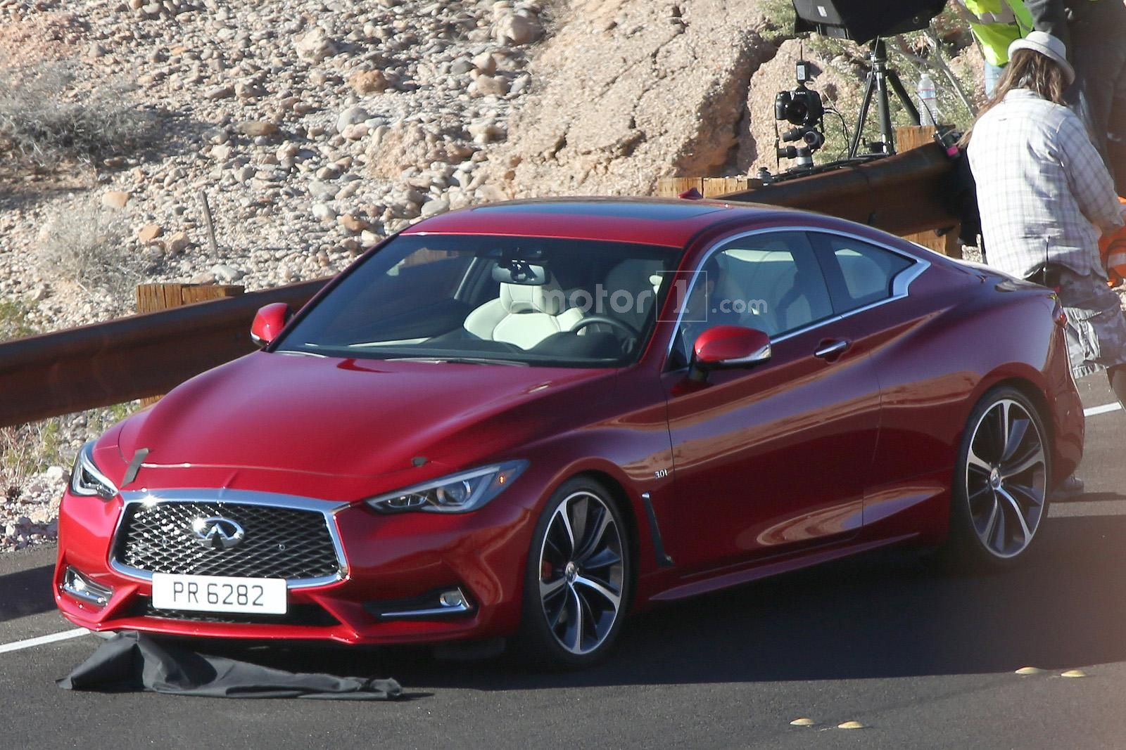Infiniti Q60 Coupe Production Version Started